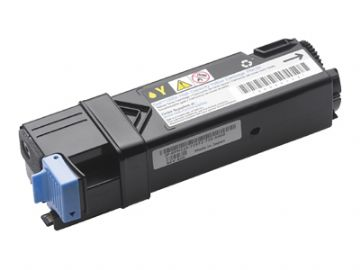 Dell 1320 - PN124 Yellow Toner Refurbished Cartridge 593-10260